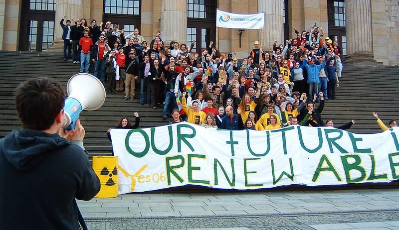 Gruppenbild der TeilnehmerInnen des Youth Energy Summit 2006