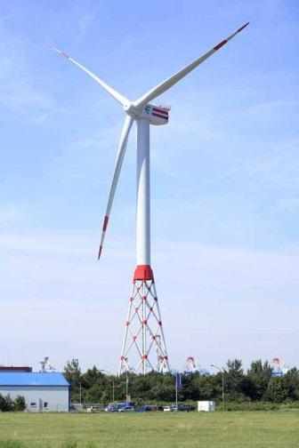 Windkraftanlage in Bremerhaven