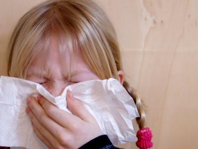 Allergische Symptome beim Kind