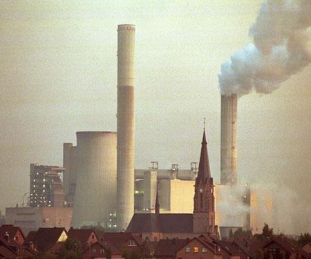 Emmissionen von Industrien