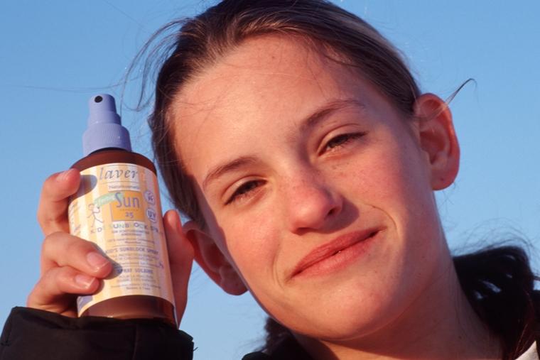 Sonnenschutzmittel für Kinder in Bio-Qualität