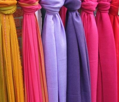 Textilien - Bunte Vielfalt