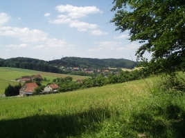 Stadtrand-Landschaft im Bielefelder Osten